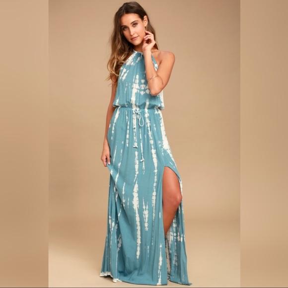 Lulu's Dresses & Skirts - New w/Tags! Lulu's IN A DAYDREAM TIE-DYE DRESS